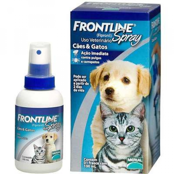 Frontline Spray para Cães e Gatos - 100ml